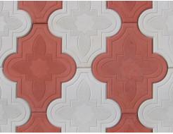 Форма для тротуарной плитки МАО Конюшина узорная 26,7*21,8*2,5 - изображение 2 - интернет-магазин tricolor.com.ua
