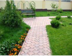 Форма для тротуарной плитки МАО Чешуя с полосами 24*18*6 - изображение 3 - интернет-магазин tricolor.com.ua