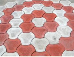 Форма для тротуарной плитки МАО Рокки 24*24*4,5 - изображение 2 - интернет-магазин tricolor.com.ua