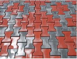 Форма для тротуарной плитки МАО Двойное Т гладкая 22,5*8,8*8 - изображение 2 - интернет-магазин tricolor.com.ua