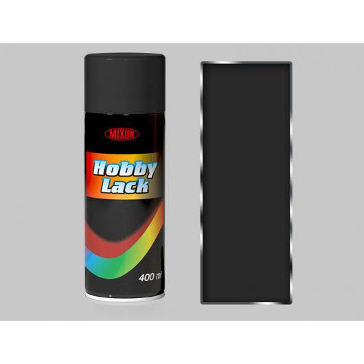 Аэрозоль универсальный Mixon Hobby Lack черный HL50 матовый - интернет-магазин tricolor.com.ua