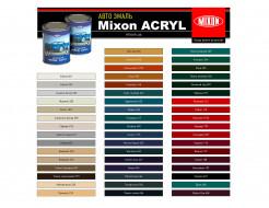 Автоэмаль Mixon Acryl 2К А Сливочно-белая 295 - изображение 2 - интернет-магазин tricolor.com.ua
