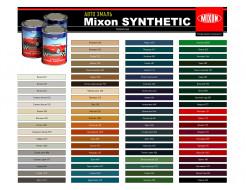 Автоэмаль Mixon Synthetic Черная 601 - изображение 2 - интернет-магазин tricolor.com.ua