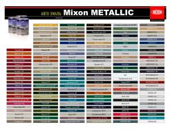 Автоэмаль Mixon Metallic Серебристая 640 - изображение 2 - интернет-магазин tricolor.com.ua