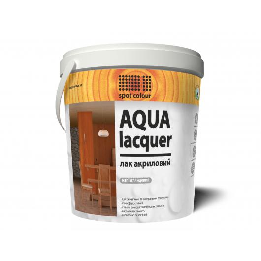 Лак акриловый полуглянец Aqua Lacquer Spot Colour