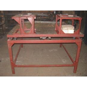 Вибростол для производства тротуарной плитки 125*125*70 без вибратора (вибромотора)