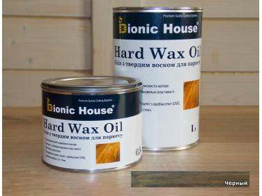 Масло для пола Hard Wax Oil Bionic House Черный