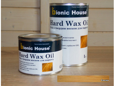 Масло для пола Hard Wax Oil Bionic House Сосна
