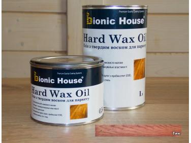 Масло для пола Hard Wax Oil Bionic House Тик