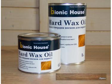 Масло для пола Hard Wax Oil Bionic House Орех