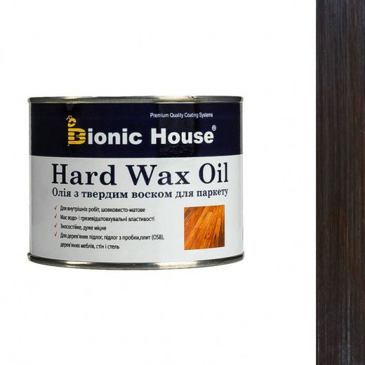 Масло для пола Hard Wax Oil Bionic House Палисандр - интернет-магазин tricolor.com.ua