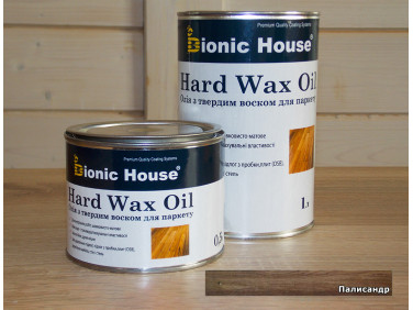 Масло для пола Hard Wax Oil Bionic House Палисандр