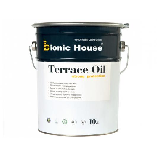 Масло террасное Terrace Oil Bionic House Белый - интернет-магазин tricolor.com.ua