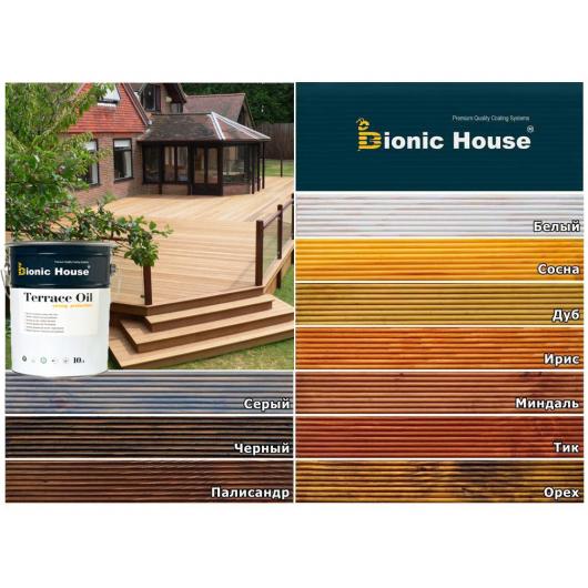 Масло террасное Terrace Oil Bionic House Миндаль - изображение 3 - интернет-магазин tricolor.com.ua