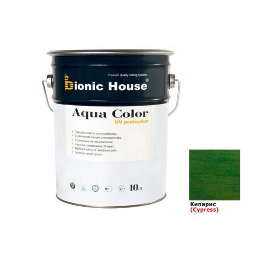 Акриловая лазурь Aqua color – UV protect Bionic House (кипарис) - интернет-магазин tricolor.com.ua