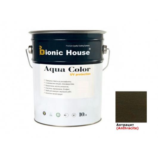 Акриловая лазурь Aqua color – UV protect Bionic House (антрацит) - интернет-магазин tricolor.com.ua