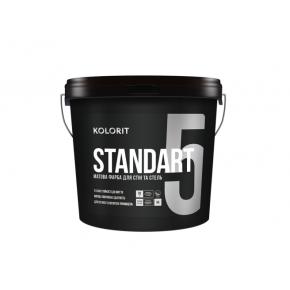 Краска стойкая к мытью Kolorit Standart 5 (база C)