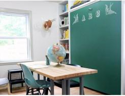 Интерьерная грифельная краска Magpaint BlackboardPaint зеленая - изображение 2 - интернет-магазин tricolor.com.ua