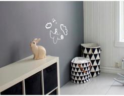 Интерьерная грифельная краска Magpaint BlackboardPaint серая - изображение 2 - интернет-магазин tricolor.com.ua