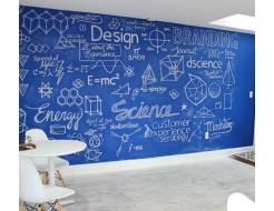 Интерьерная грифельная краска Magpaint BlackboardPaint синяя - изображение 2 - интернет-магазин tricolor.com.ua