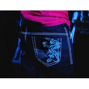 Краска люминесцентная AcmeLight Textile для ткани голубая - интернет-магазин tricolor.com.ua