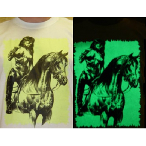 Краска люминесцентная AcmeLight Textile для ткани желтая - интернет-магазин tricolor.com.ua