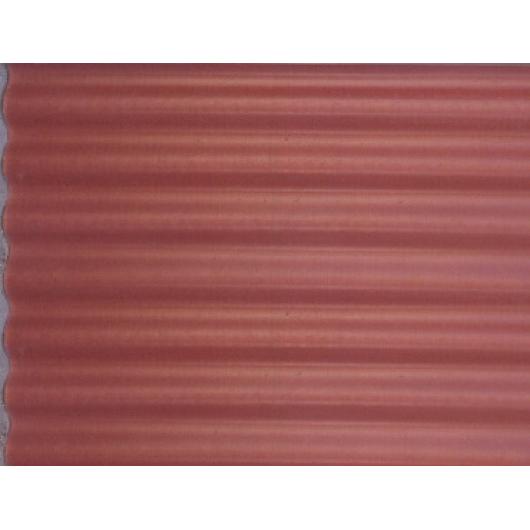Шифер пигментированный Вишневый 8 волновой - интернет-магазин tricolor.com.ua