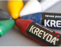 Набор мелков для маркировки на основе воска Kreyda универсальные 2 шт (белые) - изображение 2 - интернет-магазин tricolor.com.ua
