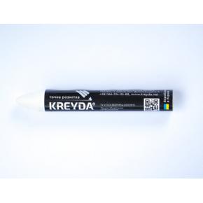 Набор мелков для маркировки на основе воска Kreyda универсальные 12 шт (белые) - изображение 2 - интернет-магазин tricolor.com.ua