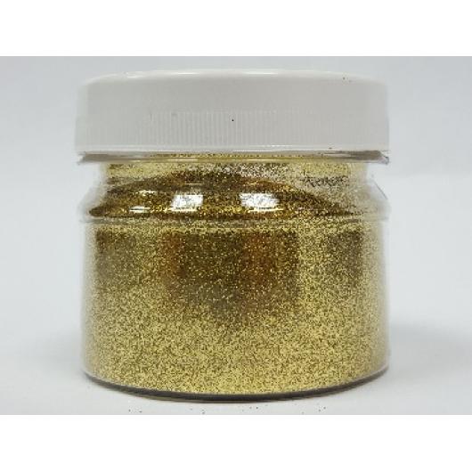 Глиттер GGO/0,2 мм (1/128) золотой Tricolor - интернет-магазин tricolor.com.ua