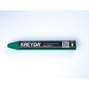 Набор мелков для маркировки на основе воска Kreyda универсальные 12 шт (зеленые) - изображение 2 - интернет-магазин tricolor.com.ua