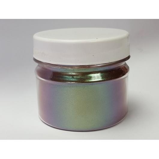Пигмент Хамелеон Tricolor 7704 Хаки-фиолетовый-оливковый - интернет-магазин tricolor.com.ua
