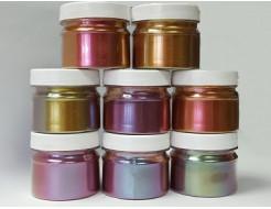 Купить Пигмент Хамелеон Tricolor 39IO Хаки-фиолетовый-оливковый - 21