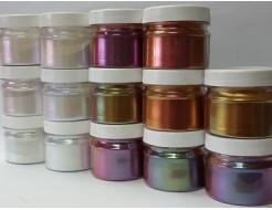 Купить Пигмент Хамелеон Tricolor 39IO Хаки-фиолетовый-оливковый - 5