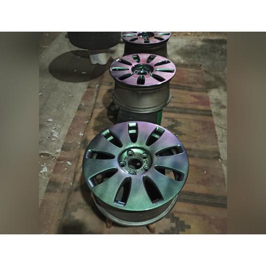 Пигмент Хамелеон Tricolor 7705 Фиолетовый-красный-зеленый - изображение 2 - интернет-магазин tricolor.com.ua