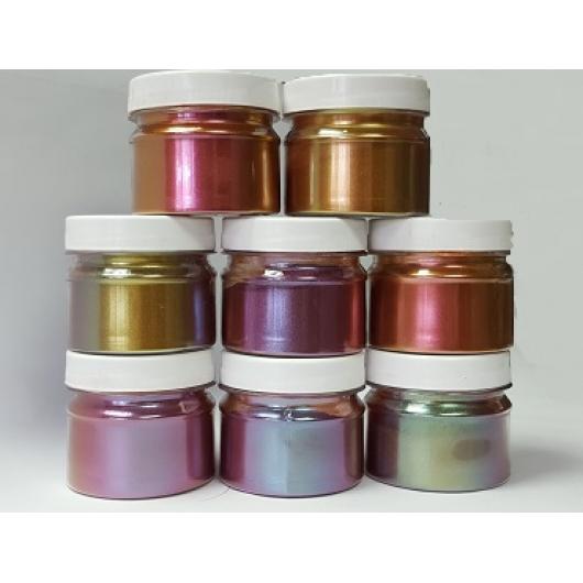 Пигмент Хамелеон Tricolor 7707 Рубин-фиолетовый-оливковый - изображение 6 - интернет-магазин tricolor.com.ua
