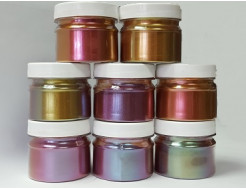 Пигмент Хамелеон Tricolor 7707 Рубин-фиолетовый-оливковый - изображение 3 - интернет-магазин tricolor.com.ua
