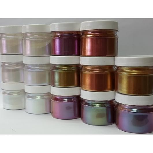 Пигмент Хамелеон Tricolor 7707 Рубин-фиолетовый-оливковый - изображение 2 - интернет-магазин tricolor.com.ua
