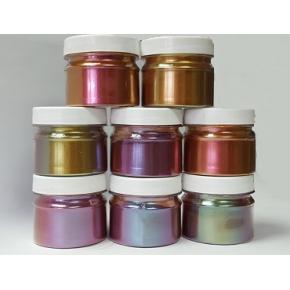 Пигмент Хамелеон Tricolor 7708 Фиолетовый-красный-бирюзовый - изображение 8 - интернет-магазин tricolor.com.ua