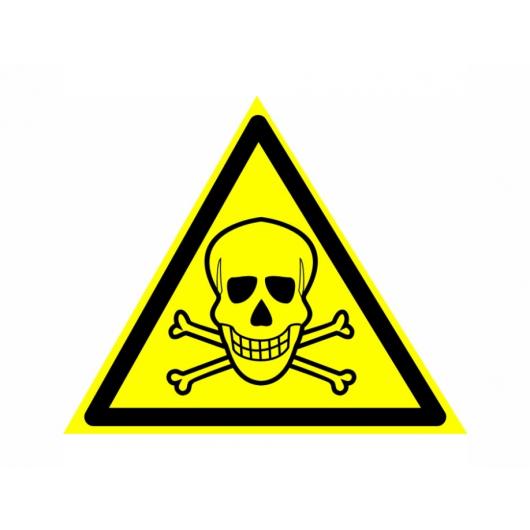 Знак предупреждающий фотолюминесцентный треугольный W 03