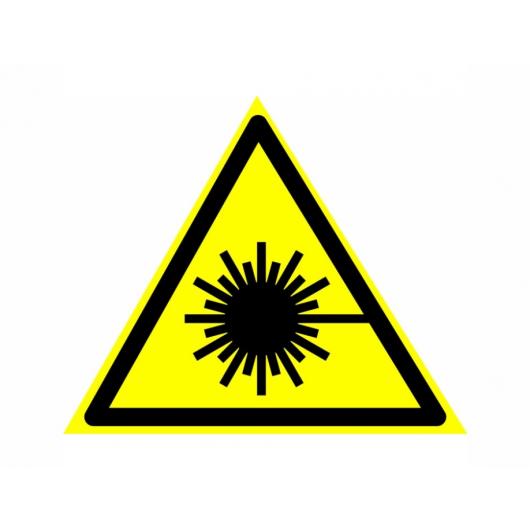 Знак предупреждающий фотолюминесцентный треугольный W 10