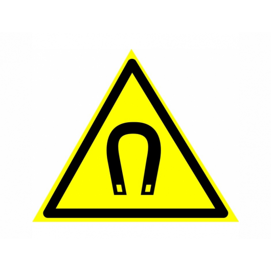 Знак предупреждающий фотолюминесцентный треугольный W 13
