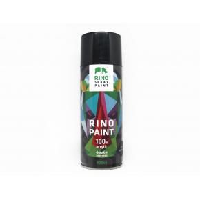 Универсальная аэрозольная акриловая краска Rino (черная) - интернет-магазин tricolor.com.ua