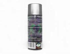 Аэрозольная акриловая краска с эффектом металлик Rino Metallic (серебро) - изображение 2 - интернет-магазин tricolor.com.ua