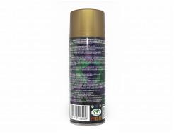 Аэрозольная акриловая краска с эффектом металлик Rino Metallic (золото) - изображение 3 - интернет-магазин tricolor.com.ua