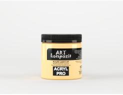 Краска акриловая художественная ART Kompozit Неаполитанский желтый темный 107 - изображение 2 - интернет-магазин tricolor.com.ua