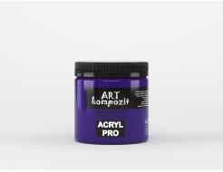 Краска акриловая художественная ART Kompozit Ультрамарин фиолетовый 440 - изображение 2 - интернет-магазин tricolor.com.ua