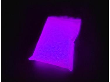 Люминесцентный пигмент Люминофор ТАТ 33 фиолетовый базовый (30 микрон)