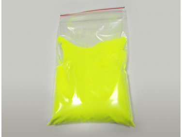 Люминесцентный пигмент Люминофор цветной ТАТ 33 желтый (80 микрон)