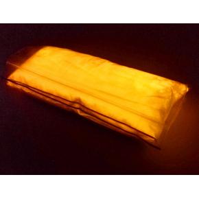 Люминесцентный пигмент Люминофор цветной ТАТ 33 оранжевый (30 микрон) - изображение 2 - интернет-магазин tricolor.com.ua